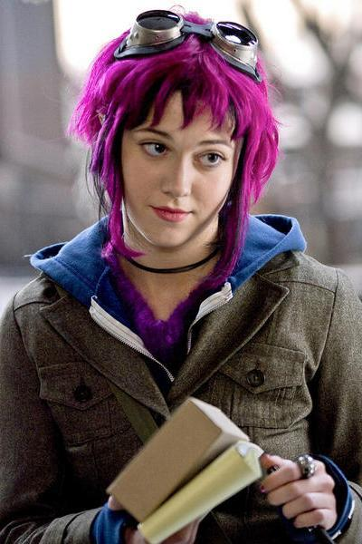 Scott Pilgrim vs the World Mary Elizabeth Winstead aka Romona Flowers Marry Me?