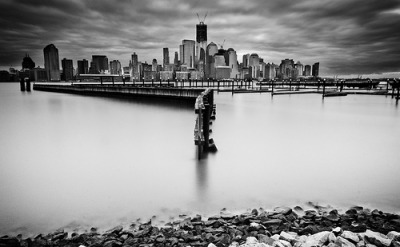 Silver Skyline | The Waterfront, Jersey City, New Jersey©  razi.ballal