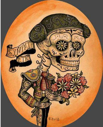 Day of the Dead artwork