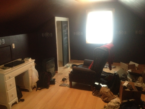 New room in the works.  Things that I need: Mattress Dressers Paint(eventually)