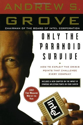 Only the Paranoid Survive: How to Exploit the Crisis Points That Challenge Every Company Andrew S. Grove Under Andy Grove's leadership, Intel has become the world's largest chip maker and one of the most admired companies in the world. In Only the Paranoid Survive, Grove reveals his strategy of focusing on a new way of measuring the nightmare moment every leader dreads—when massive change occurs and a company must, virtually overnight, adapt or fall by the wayside. Grove calls such a moment a Strategic Inflection Point, which can be set off by almost anything: mega-competition, a change in regulations, or a seemingly modest change in technology. When a Strategic Inflection Point hits, the ordinary rules of business go out the window. Yet, managed right, a Strategic Inflection Point can be an opportunity to win in the marketplace and emerge stronger than ever. Grove underscores his message by examining his own record of success and failure, including how he navigated the events of the Pentium flaw, which threatened Intel's reputation in 1994, and how he has dealt with the explosions in growth of the Internet. The work of a lifetime, Only the Paranoid Survive is a classic of managerial and leadership skills. The Currency Paperback edition of Only the Paranoid Survive includes a new chapter about the impact of strategic inflection points on individual careers—how to predict them and how to benefit from them.