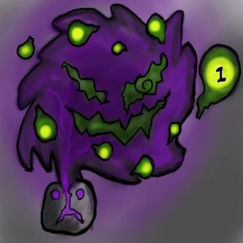 ask-spiritomb:  I'm Spiritomb, so ask me stuff or I will give you nightmares. Don't Be Shy Kids. heheehehee [OCC: pretty new at this, and ask box is open now,but noone knows I exist soooooo….]  OOC: follow this fellow