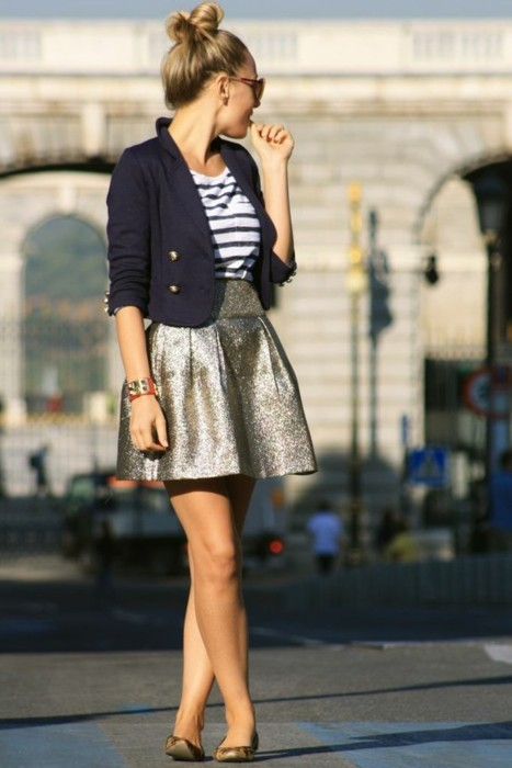 Nautical and a dash of glitter.