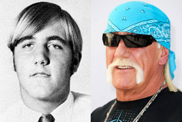 Hulk Hogan, 1970 during his junior year at T.R. Robinson High School in Tampa, Florida.