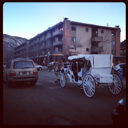 ciscoadler:  #aspen traffic  (Taken with instagram)