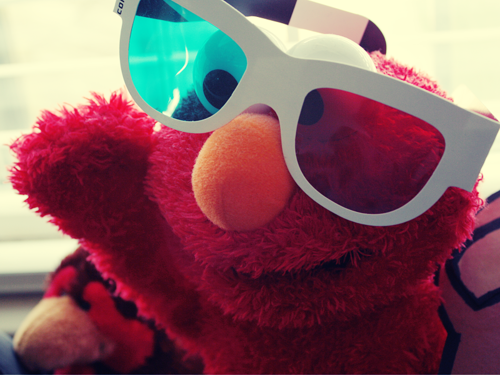 Hi! Im Elmo,and i gonna watch Harry Potter 3D :p
