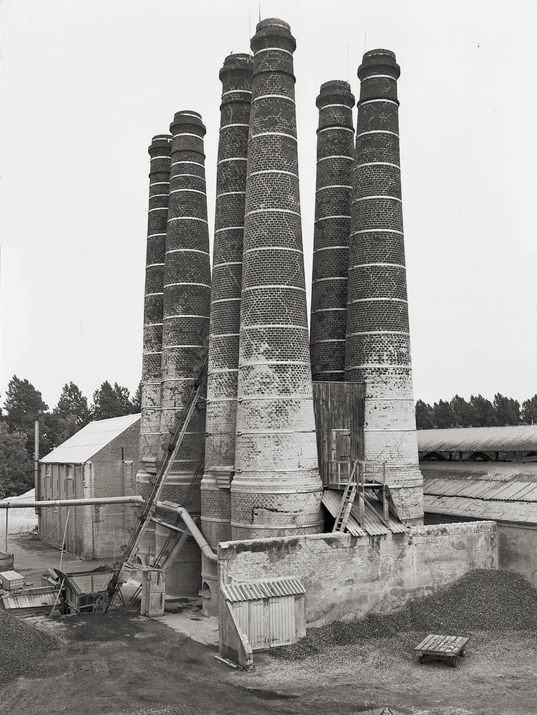 melisaki:  Lime Kilns, Brielle, Holland photo by Bernd & Hilla Becher, 1968