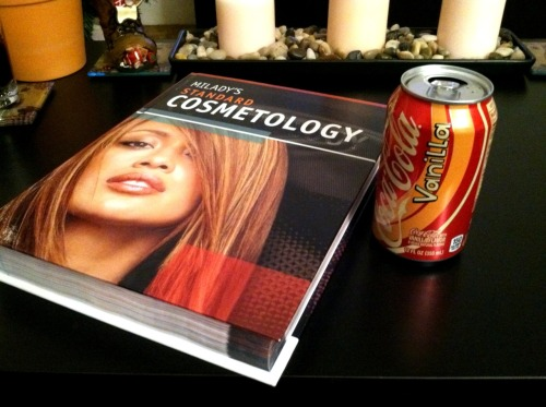 Study time. I'm so proud to call myself a cosmetology student and future hair stylist/cosmetologist.  Do what you love, love what you do. :)