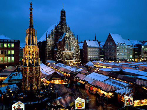 -cityoflove:  Christkindl Market, Germany via kruhme
