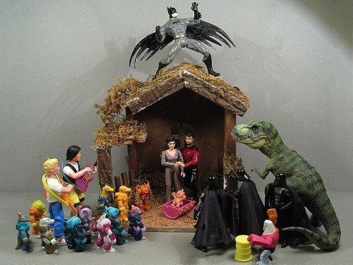 himynameisnickolas:  Best Nativity scene EVER!!