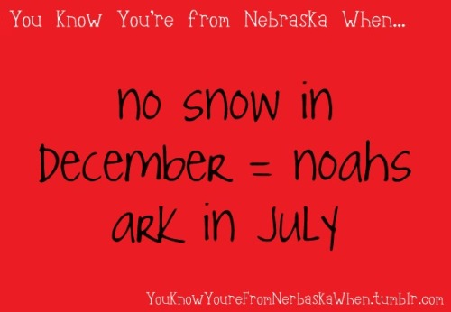 youknowyourefromnebraskawhen:  Submitted by cello-schmello  BUT IT'S RAINING RIGHT NOW