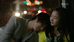 City Hunter: Lee Min-ho is soo sexy and cute…  When guys put their head on your shoulder… <3