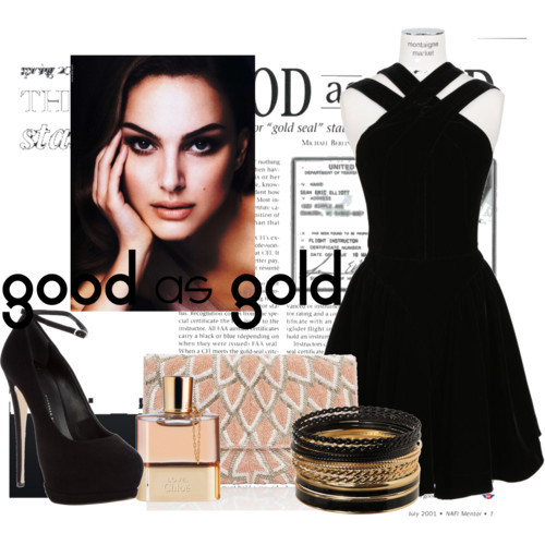 GOOD as GOLD by dilaganer featuring gold jewelry