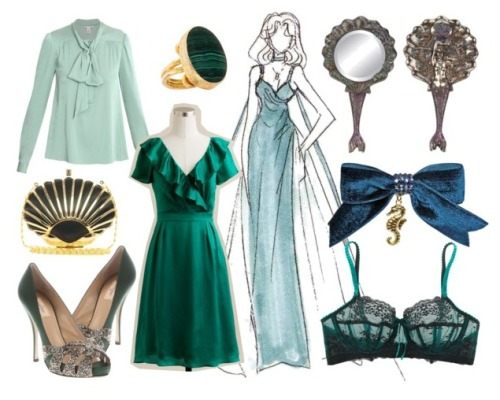 Because. Because mermaids and princesses.  Pieces | More Sets