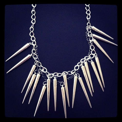 """Don't mess with me"" #necklace #Jewellery  (Taken with instagram)"