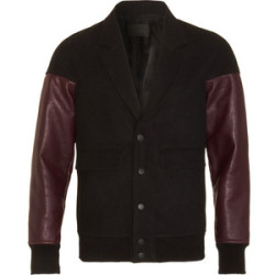 ALEXANDER WANG Contrast Sleeve Bomber- ON MY CLOSET