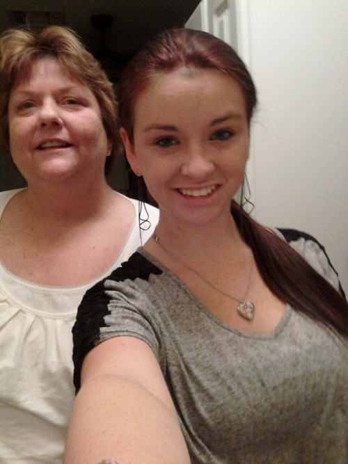 me and my mommy c: