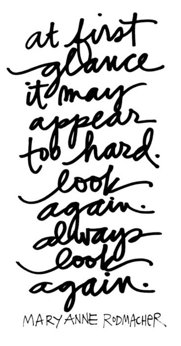 Always look again…