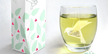 inallthingsbalance:  Beautiful Idea - Origami Bagged Tea