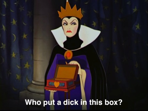 evil queen is a fierce bitch
