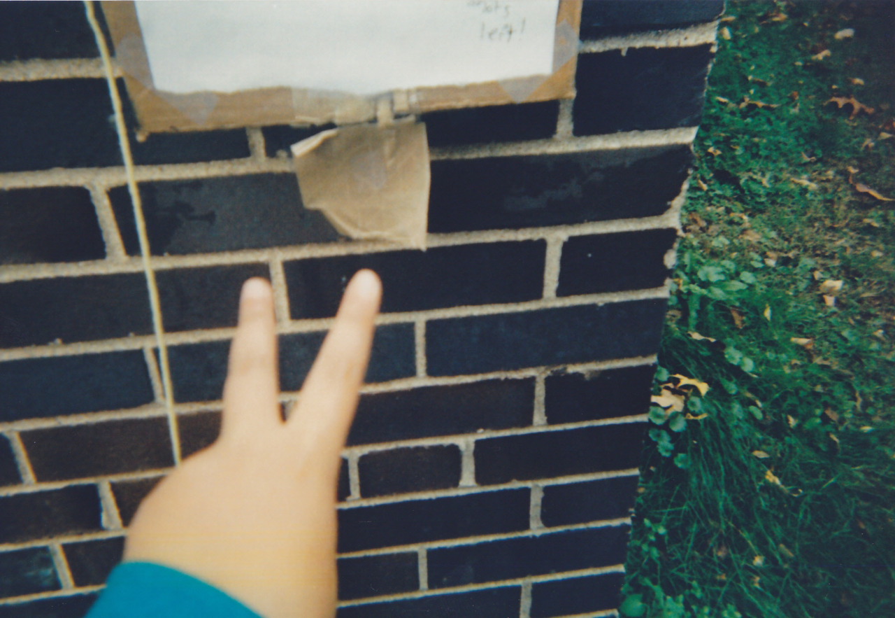 Last year I tied a disposable camera to a fence and left a little sign telling people to take pictures.  This is Part 2 of the results. (Part 1)  Look forward to the inevitable testicle shots in Part 3! This idea was stolen from The Plug, a fantastic online zine that you should definitely peruse.