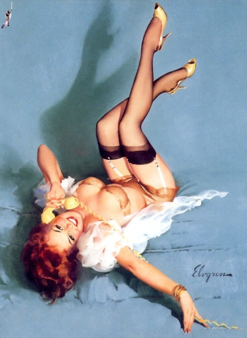 One of my fave Gil Elvgren pin ups.