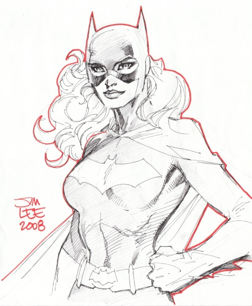midtowncomics:  batgirl (2008) by Jim Lee