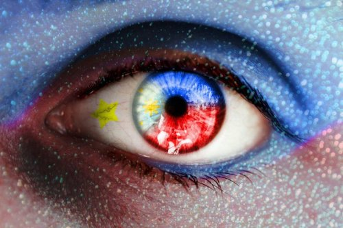 The eye of a filipino !