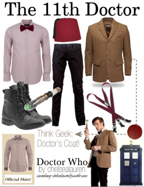 Eleventh Doctor (Menswear) | Doctor Who - Click here!