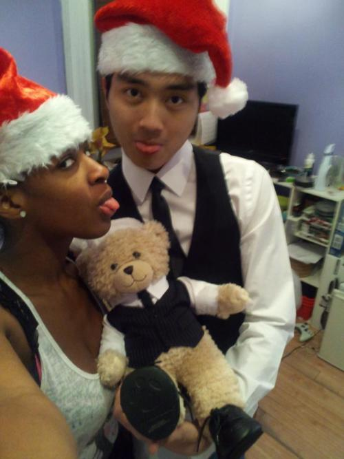 blackwomenasianmen:  baby all I want for christmas is youuuuuuuuuuu :)