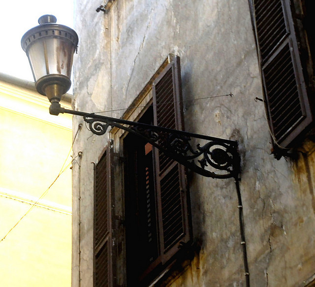 | ♕ |  Street lamp in Rome  | by © Bruno Moretti