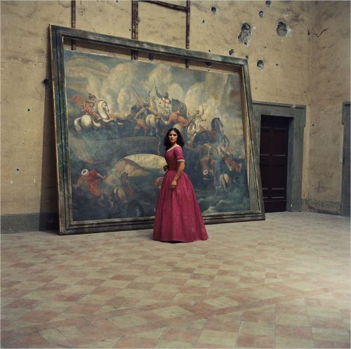 Claudia Cardinale in Luchino Visconti's The Leopard (1963) Costume design by Piero Tosi Image Source: Vintage Photography