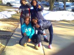 Me , Likah , Diamond , Zyrah 2 years ago -.- #champ .