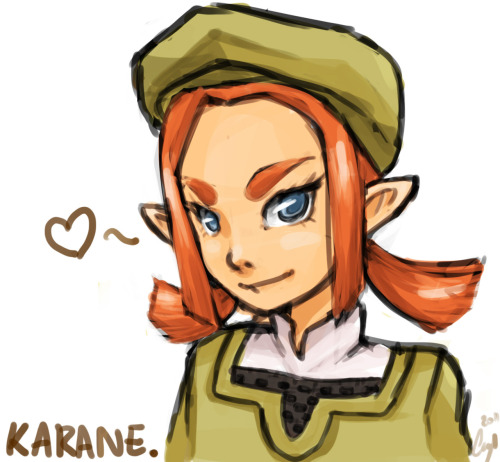 I think there needs to be more Karane fanart there's like none and her hair is so fun to draw too like gosh :3