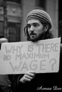 think I'm being generous; the maximum wage should be 100 times the minimum wage!  If those on top want a raise all they would have to do is raise minimum wage.