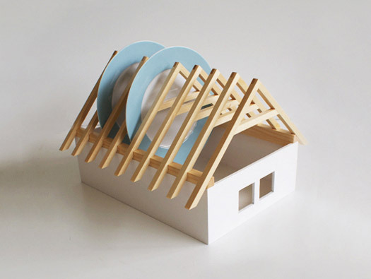 lylaandblu:  House dish rack by Veronica Paluchova