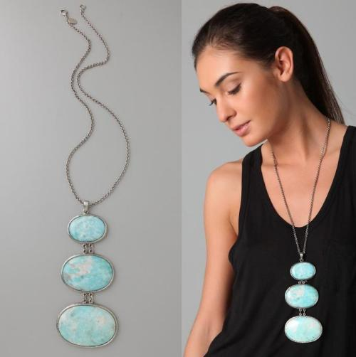 Theodora & Callum Escape Agate Necklace