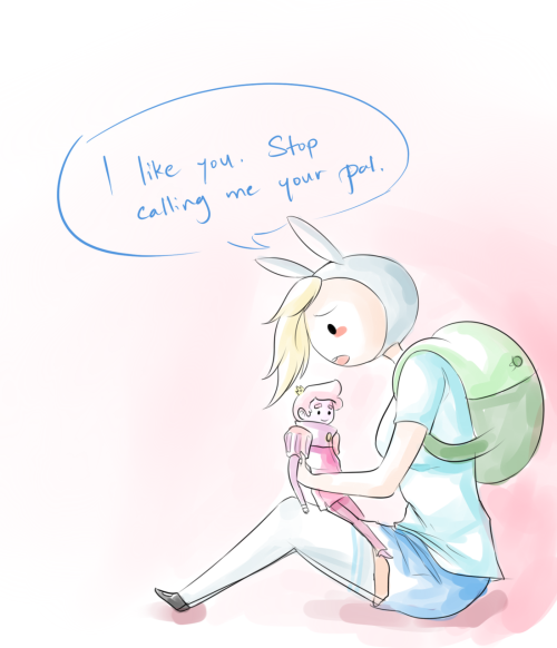 FRIEND ZONE. This is 100% about Fionna. 0% about me. … Okay maybe 1% about me.