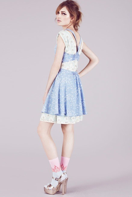 glamour:  Today on STF: Topshop's spring 2012 trend report. Photo: Courtesy of Topshop