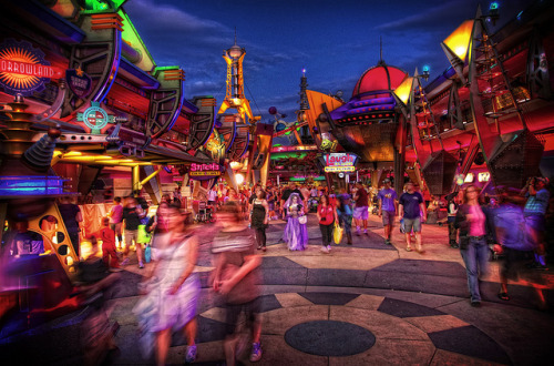 wherefantasyreigns:  Magic Kingdom - Tomorrowland by Matt Pasant on Flickr.