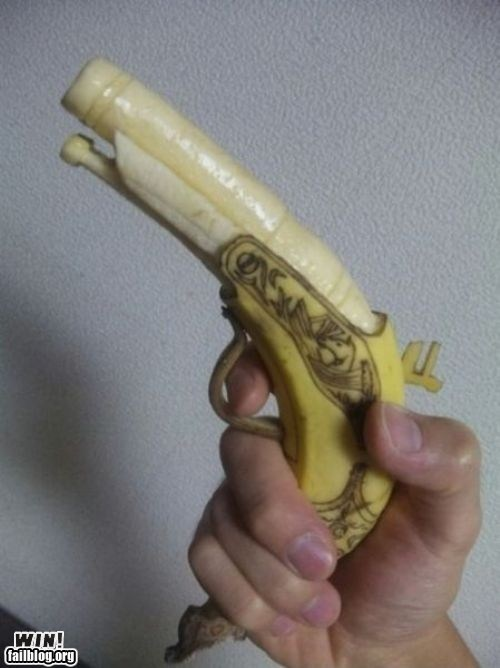 Epic Win-Banana Gun