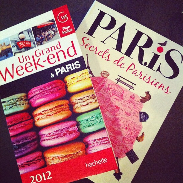 Paris J-7! (Taken with instagram)