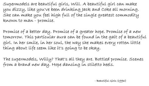 Beautiful Girls…