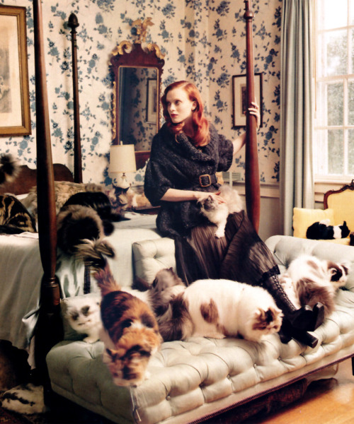 th3skinny:  bienenkiste:  Karen Elson by Tim Walker  my future.