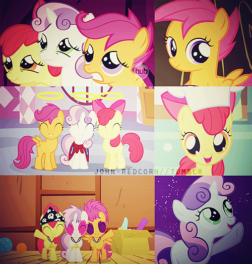 6 Favorite Pictures — The Cutie Mark Crusaders