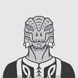 The Argonian from Skyrim