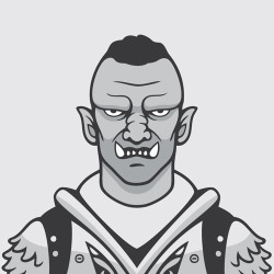 The Orc from Skyrim