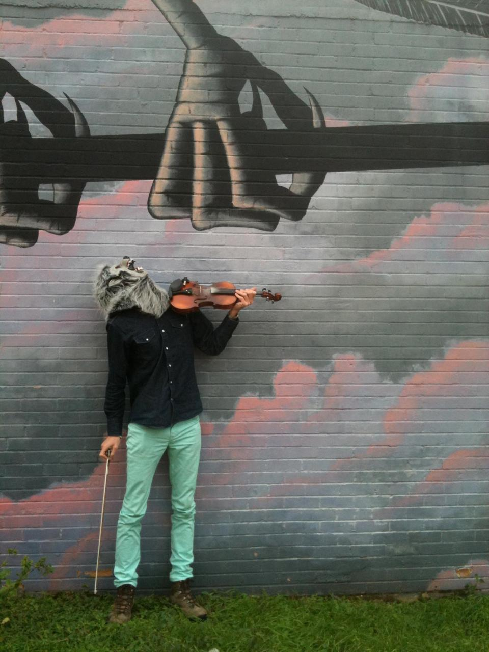 Violin Monster in Austin, Texas
