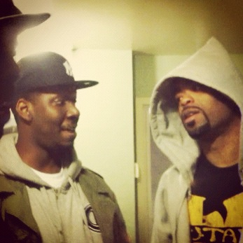 dialoguedalain:  luckysevenmusic:  Smoking x joking backstage with Inspectah x Meth. #HHU #Wutang #Buffalo  This is sick. HU doin big things. #HHU