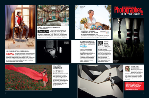 "Professional Photographer Magazine (January) - Professional Photographer of the Year Awards This months magazine has given me a mention in the student category of the Professional Photographer of the Year Awards. The image is a shot of Chris Hillier recording with his band The Bronze Medal at Moles studio earlier this year.   ""Our Professional Photographer of the Year Awards for 2011 celebrate the talent in the UK's Photographic community, and the entries are growing nicely on the PP website with some incredibly creative and interesting images to marvel over - it's well worth a look. As with last month, the judges and sponsors have had a good look through and chosen images that have inspired comment. Each individual has then written a personal account of why they have chosen the image. The competition ends soon, with the awards night on March 22nd 2012, so don't waste time getting your entries in"" - Professional Photographer Magazine"